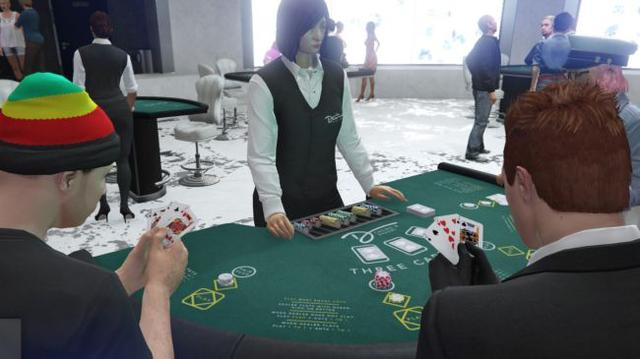 《侠盗猎车OL》赌场更新盛况空前 在线玩家创下新纪录