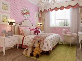 儿童房装修 集成墙面环保更艰苦