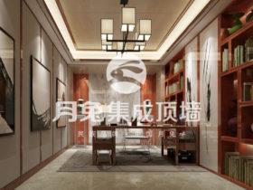 月兔集成墙板 风格多样化成为家居行业的新潮流