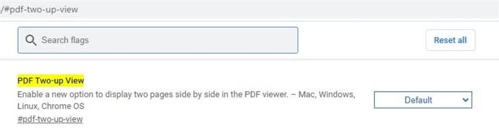 """谷歌 Chrome 浏览器将支持""""PDF 同屏双页视图"""""""