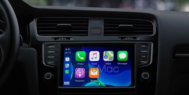 苹果 iOS 14 CarPlay 将支持自定义主题壁纸、地图提醒 Apple Store 预约服务