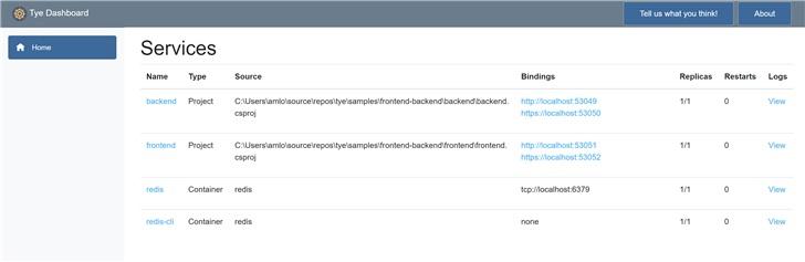 微软开发工具 Tye 宣布开源