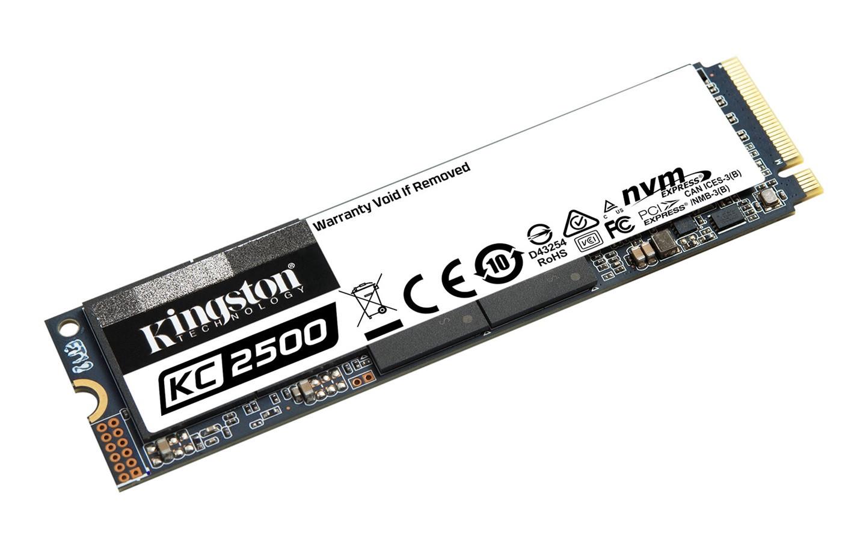 金士顿推出 2TB 版 KC2500 固态硬盘:96 层 TLC,最高 3.5GB/s