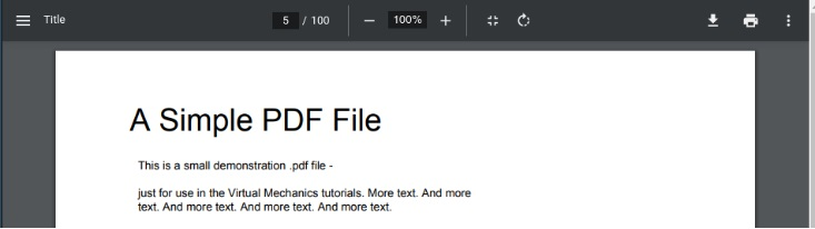 谷歌 Chrome PDF 阅读器 UI 获改进