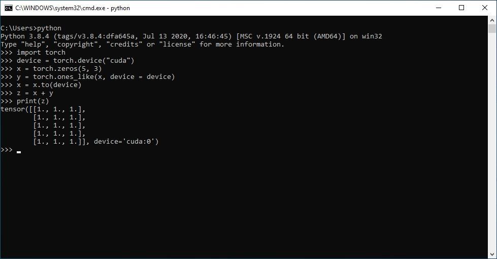Windows 版 PyTorch 开发维护权已移交至微软