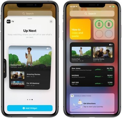 苹果 iOS 14/iPadOS 14 开发者预览版 Beta 4 更新内容:3D Touch 回归、Apple TV 小部件
