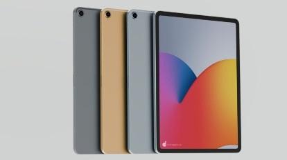苹果 iPad Air 4 360 度渲染图释出:屏幕边框更窄,与 iPad Pro 类似