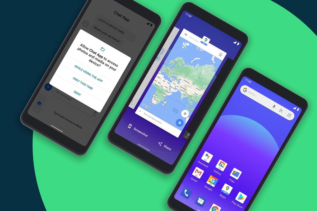 Android 11 Go 版本发布:支持 2GB 内存,应用启动速度快 20%