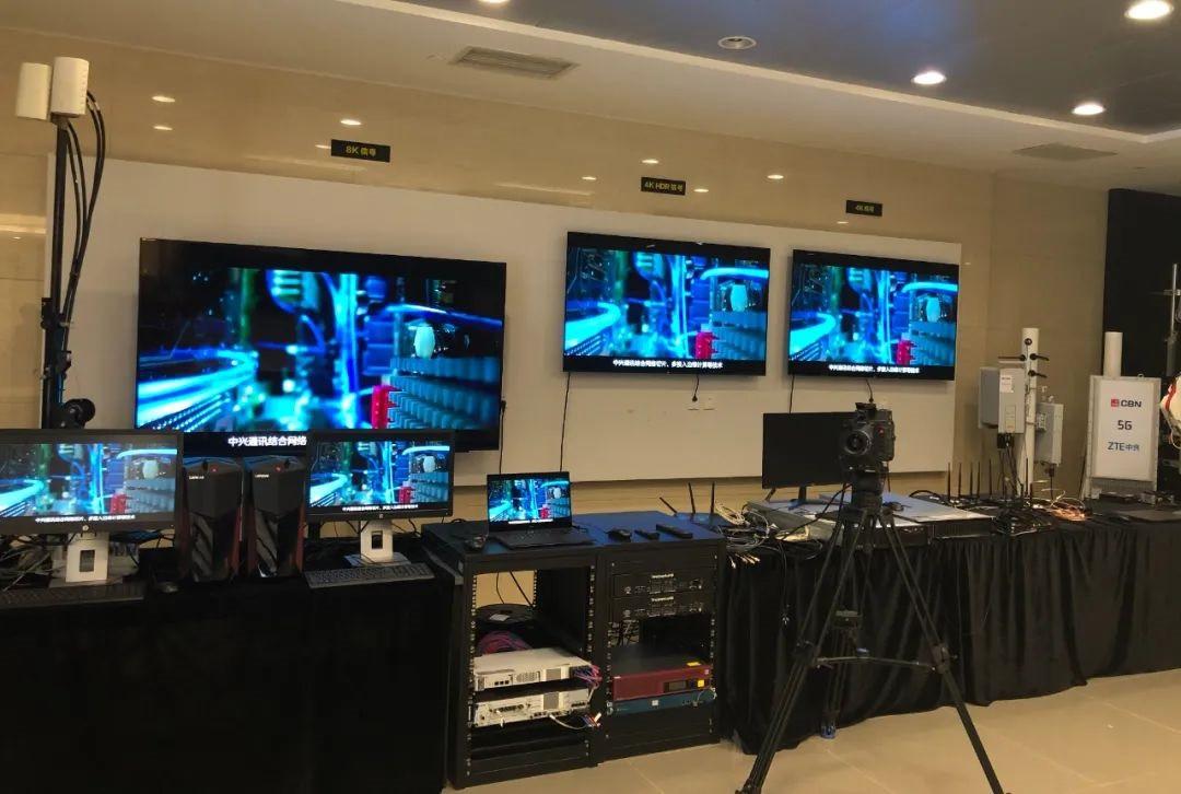 中兴通讯首家实现 5G NR 广播功能,可传输多路 1080P/4K 视频
