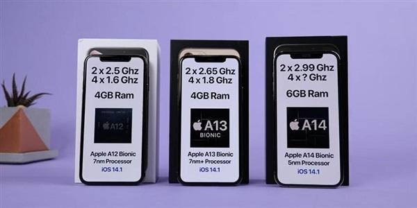 苹果 iPhone 12 Pro 运行速度测试:明显快于 11 Pro 和 XS