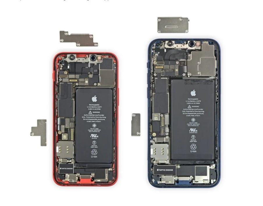 """苹果 iPhone 12 mini 拆解:用了 iPhone 12 组件的 """"mini""""版本"""